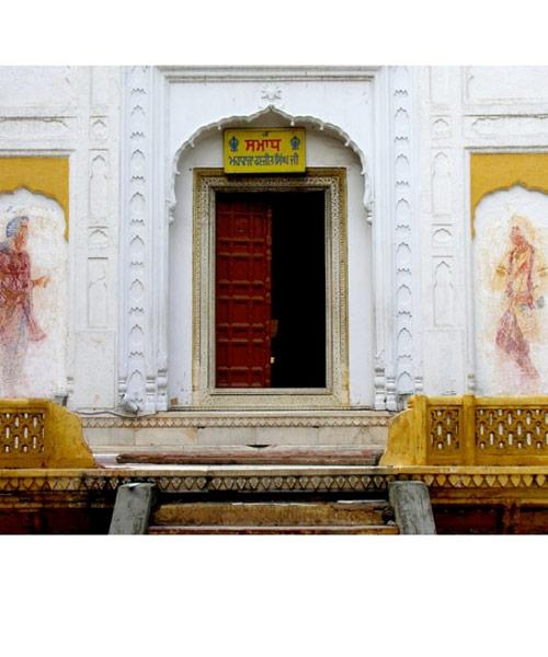 Eastern entrance of Maharaja Ranjit Singh's Samadhi