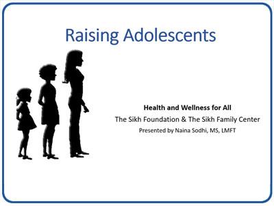 Naina Sodhi MFT – Parenting adolescents & teenagers