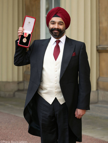 Sir Harpal Singh Kumar - Knighted by Queen Elizabeth II