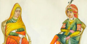A Souvenir from the Past: Painted memories of the powerful and the ordinary in 19th century Punjab