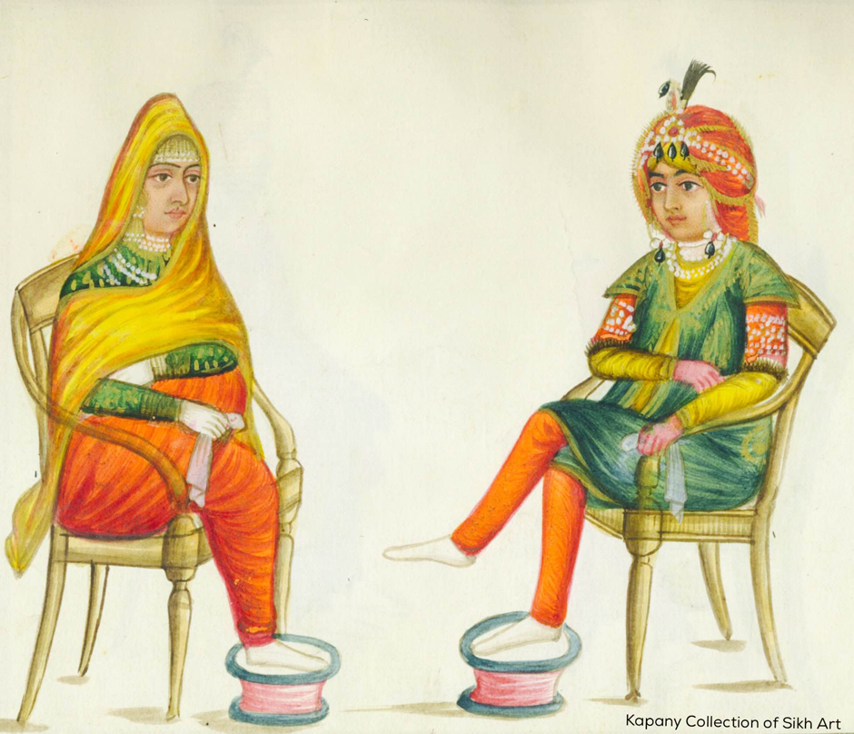 A Souvenir from the Past Painted memories of the powerful and the ordinary in 19th century Punjab