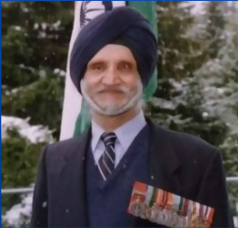 Sikh Veteran Who Fought Legion Over Right to Wear Turban Laid to Rest in B.C.