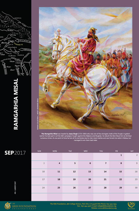 The-great-sikh-misals-sikh-fine-art-calendar-2017