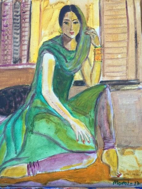 Tanya Momi prints Ravi