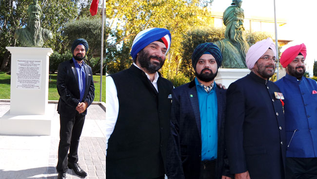 Maharaja Ranjit Singh's Bust Unveiled In St Tropez In France