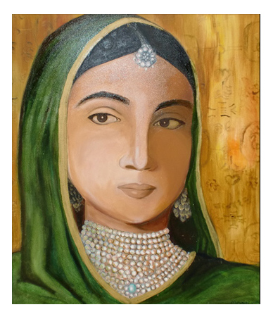Tanya Momi - Greeting Card - Maharani Chand Kaur