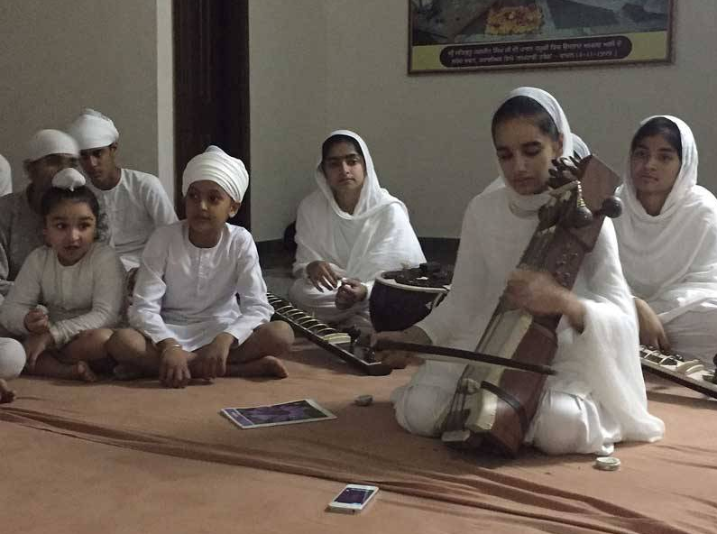 In this Village, Every Child Knows his Ragas