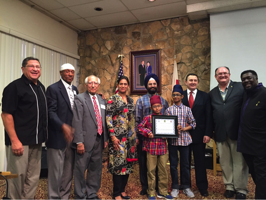 Interfaith Activist Dr. Harbans Lal Receives 2016 International Lifetime Achievements Award