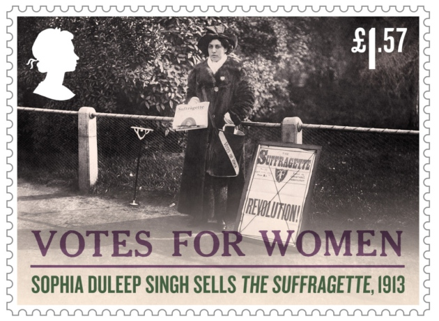New Postage Stamp Released to Celebrate Forgotten Suffragette's Historic Role in Battle for Women's Votes