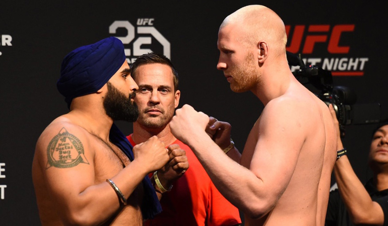Arjan Bhullar – The Warrior's Way