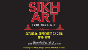 Bay Area's First Ever Sikh Art Exhibition and Sale
