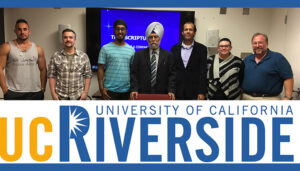 Annual Report from the UCR Saini Chair