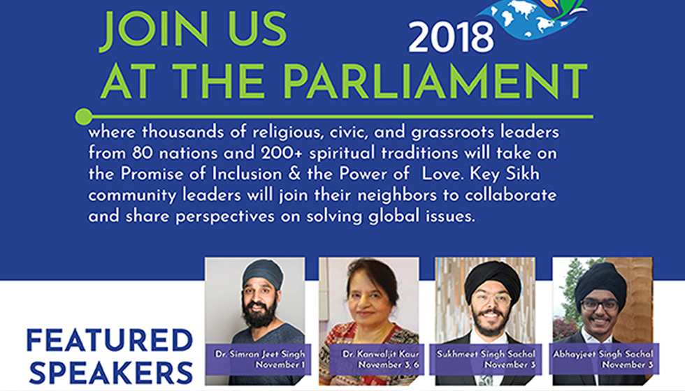 Parliament of World Religions – Toronto, 2018