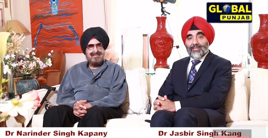 Dr. N.S Kapany - Views on Science, art & faith -conversation with Dr. J.S. Kang​