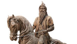 Maharaja Ranjit Singh Statue in Lahore Fort-Pakistan