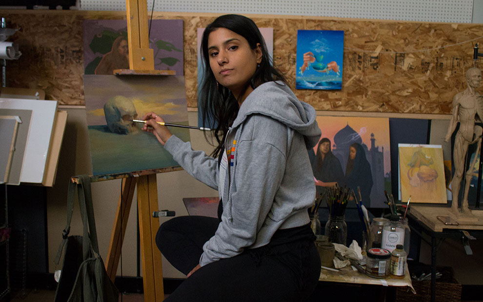 Rupy Kaloti: a Surrealist Painter and Storyteller
