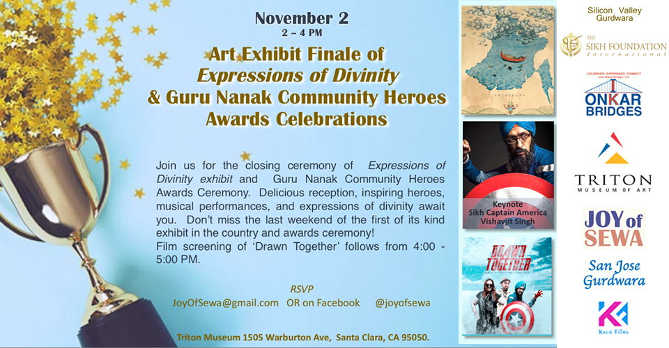 Expressions of Divinity Art Finale and Guru Nanak Awards