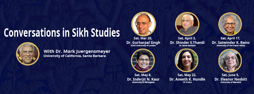 Conversations in Sikh Studies with Dr. Mark Juergensmeyer
