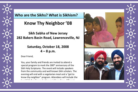 Know Thy Neighbor - poster