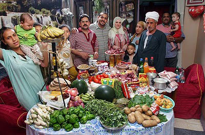 Egypt The Ahmed family of Cairo Food expenditure for one week $68.53