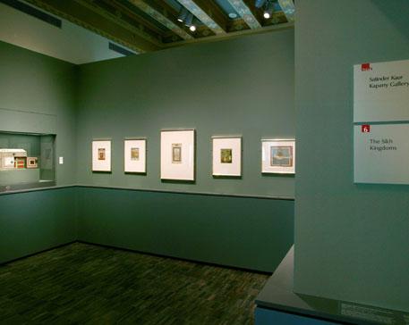 Fig. 17 & 18 Satinder Kaur Kapany Gallery of Sikh Art at the Asian Art Museum, San Francisco CA