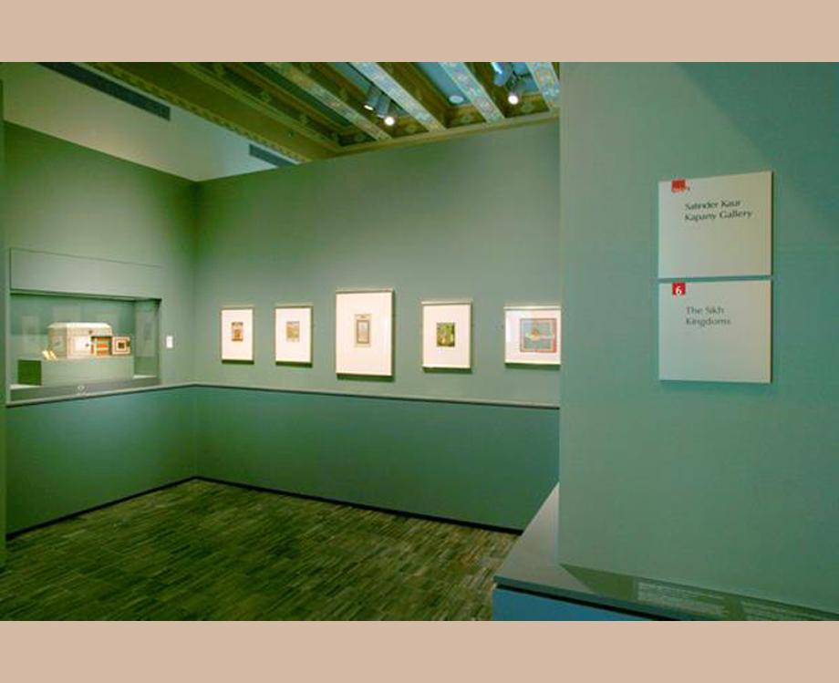 Satinder Kaur Kapany Gallery of Sikh Art Asian Art Museum San Francisco