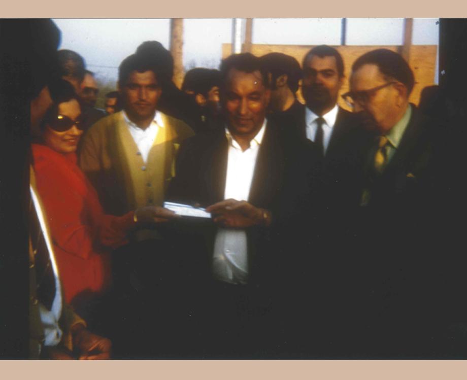 Satinder Kaur at the foundation laying ceremony of the Yuba City Gurudwara