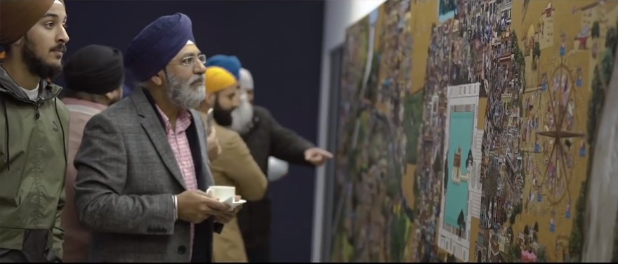 Without Shape Without Form – Art of Punjab Exhibition at Guru Maneyo Granth Gurdwara