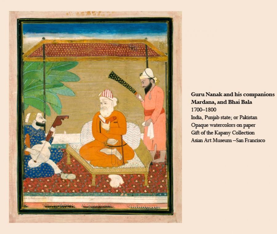 The Many Faces of Guru Nanak