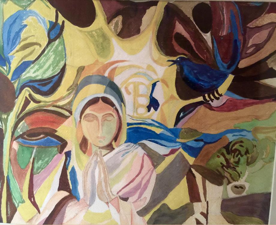 Baramaha painting by Satinder Kaur Kapany