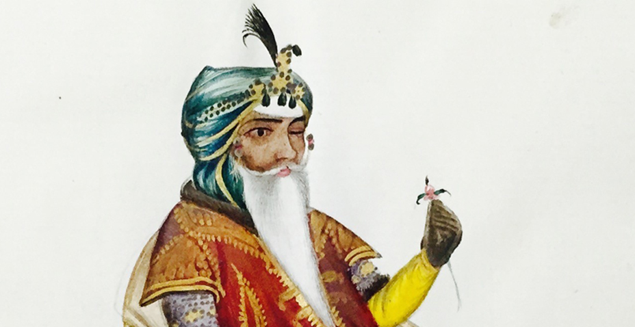 Why is the Maharaja Holding a Flower?