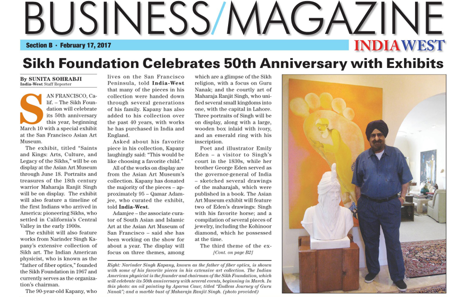 The Sikh Foundation in the News