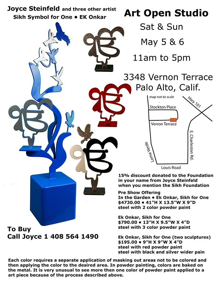 Sikh Art at Silicon Valley Open Studios – May 5-6 2018