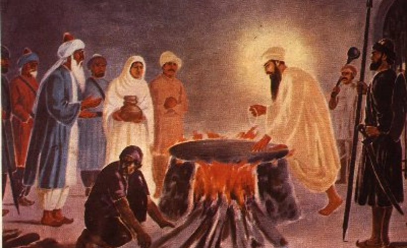 The Moth and the Flame:  How and Why We Celebrate Guru Arjan Today