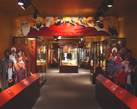 "Entrance to the exhibit ""Sikhs: Legacy of the Punjab"", Smithsonian Institution, Washington, D.C"
