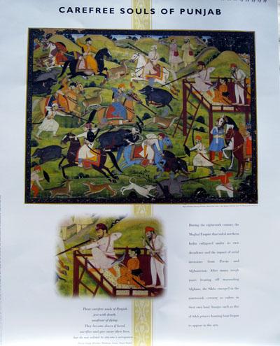 Sikh Fine Art Calendar 2000: Culture & Kingdoms of the Sikhs