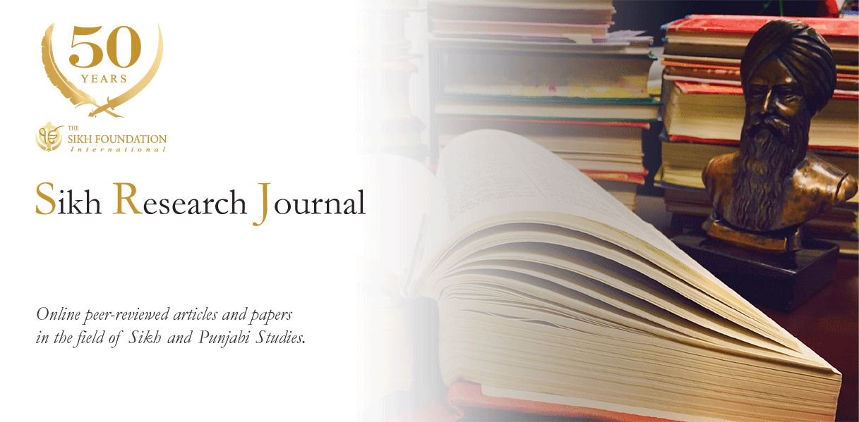 Sikh Research Journal